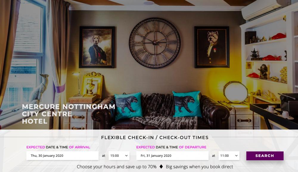 Mercure Nottingham City Centre Hotel | 4* Nottingham Lace Market Hotel