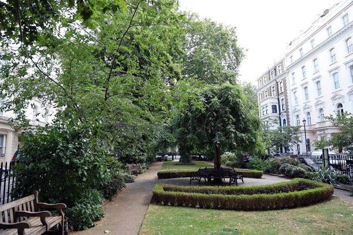 Norfolk Square Gardens Paddington