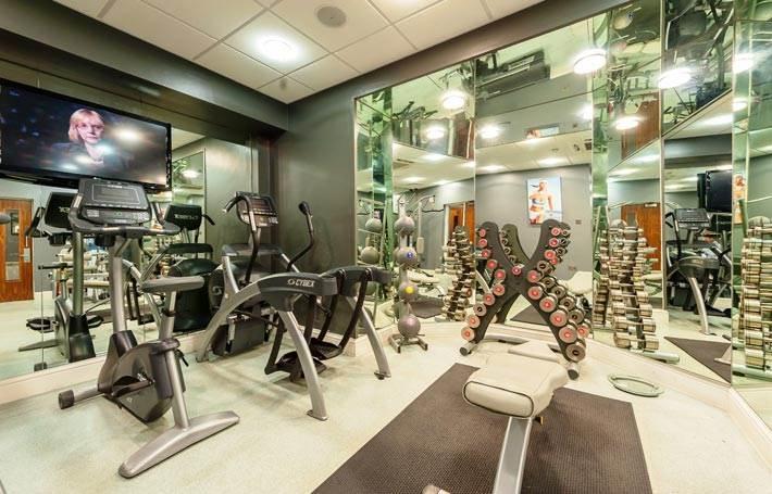 Mercure Nottingham City Centre Hotel Private Gym