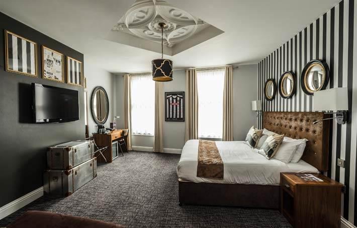 Mercure Nottingham City Centre Hotel Bedroom